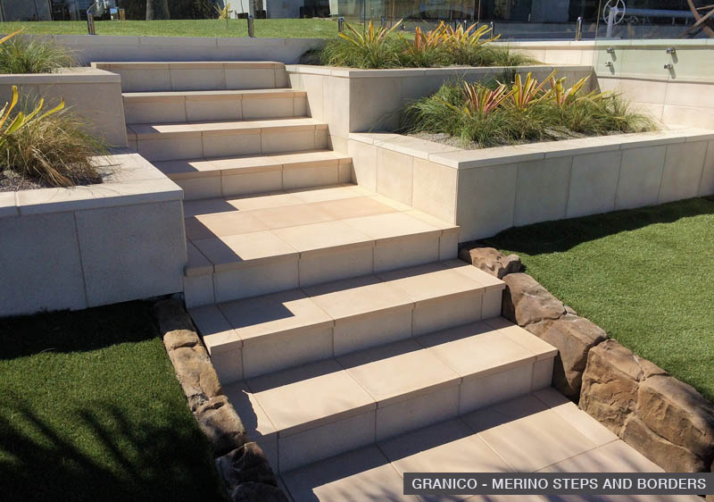 granico merino steps and borders