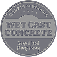 wet cast concrete
